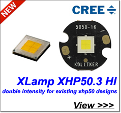 new cree xp-g2 he